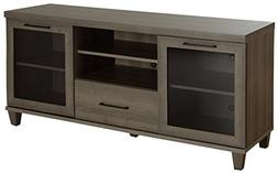 South Shore Adrian Tv Stand for Tvs Up to 60'', Gray Maple