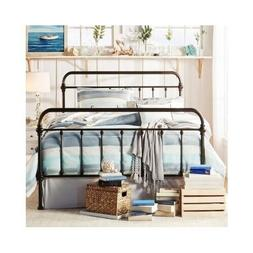 Bed Frame Queen With Headboard And Footboard Metal Wrought I