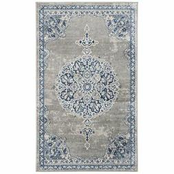 Safavieh Brentwood 4' x 6' Rug in Light Gray and Blue