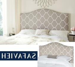 Safavieh Connie Classic Upholstered Headboard with Nail Head