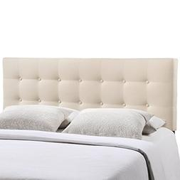 Modway MOD-5170-IVO Emily Upholstered Tufted Button Fabric Q