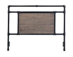 Glenwillow Home Exmore Metal Headboard in Matte Black or Ant