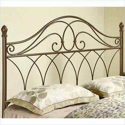 Bowery Hill Full and Queen Spindle Headboard in Brown