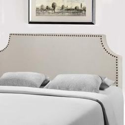 Headboard Fabric Upholstered Full/Queen Size Headboard With