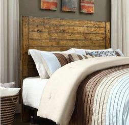 Headboard Full Queen Size Bed Rustic Farmhouse Solid Wood He