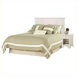 Home Styles Naples Headboard and Night Stand