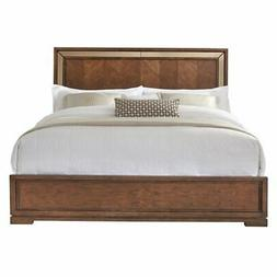 Pulaski King Panel Headboard in Brown