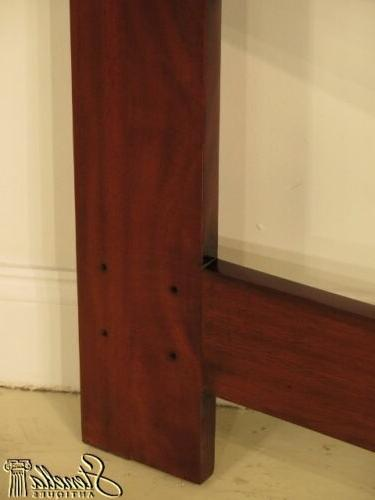 40360: Chippendale Design Carved Mahogany Queen ~