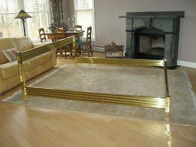 BRASS - HOLLYWOOD REGENCY - SIZE AWESOME by Wesley