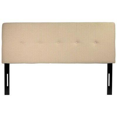 Full / Queen Linen Fabric Headboard Height Adjustable