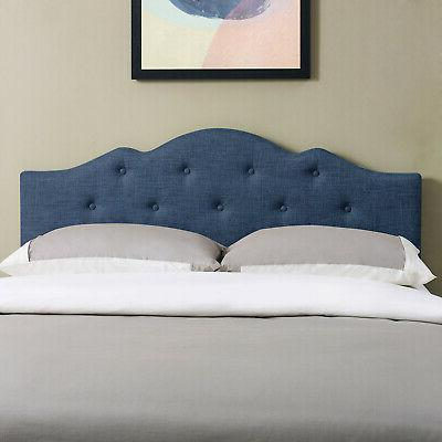 Rounded Height Bed Padded Button