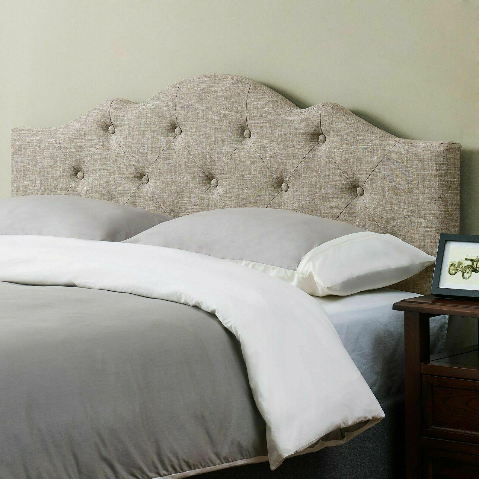 Rounded Headboard Bed California