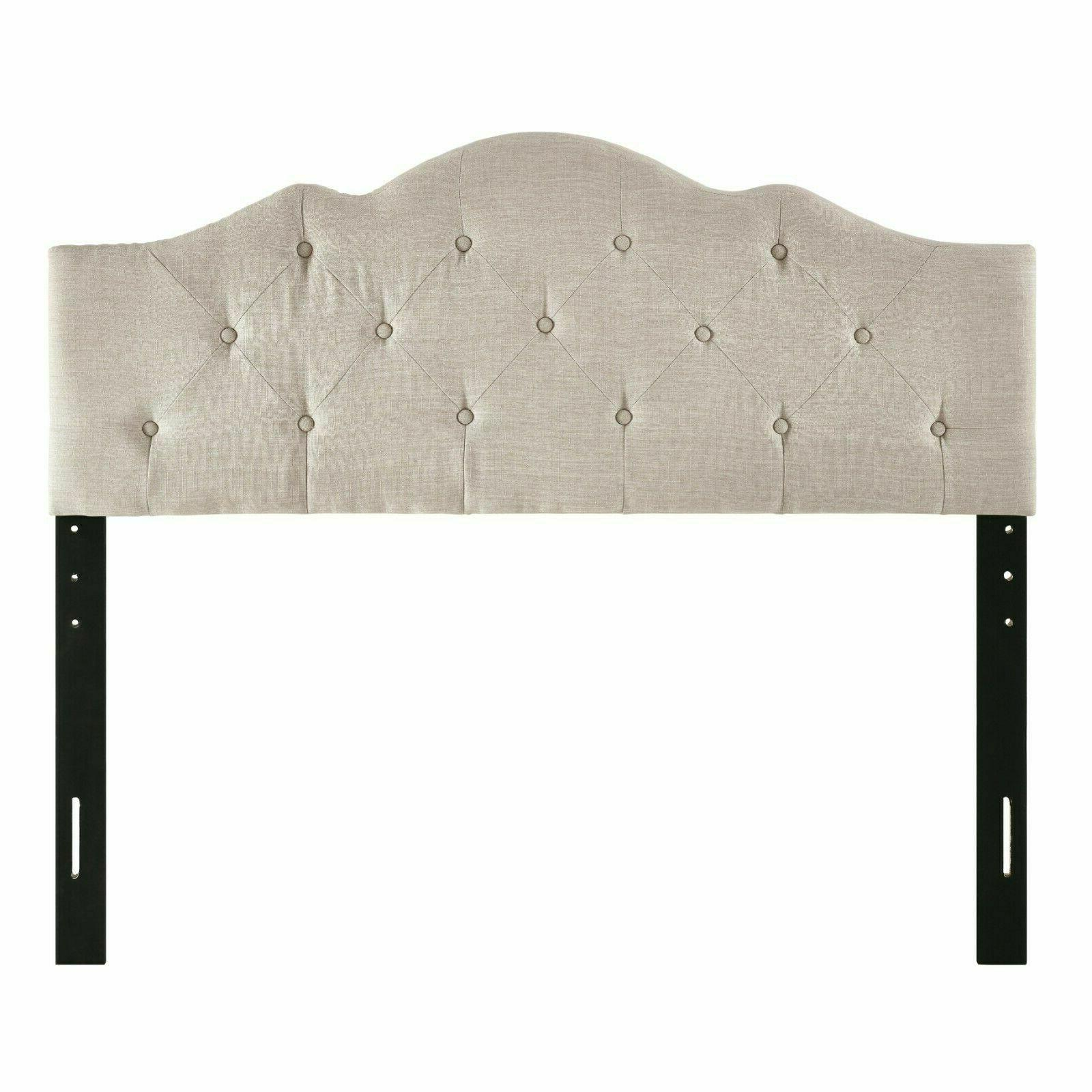 Rounded Bed Tufted Full California King