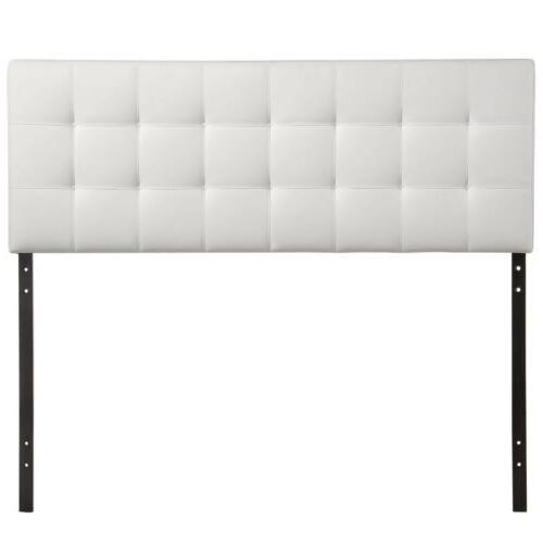 Tufted Upholstered Square Full Size in