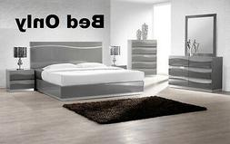 Leon Modern 1 Pc Bedroom Queen Cal King Est King Sizes Bed H