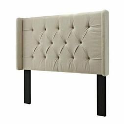 Pulaski Mirabella Tufted Panel Headboard with Wings, King