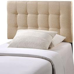 Modway Lily Twin Fabric Headboard, Multiple Colors