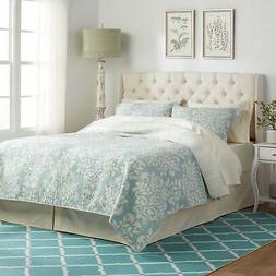 Perryman Adjustable Full/ Queen Tufted Fabric Headboard by