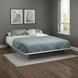 "Queen Size 60"" Basics Platform Bed Frame Modern Bedroom Furn"