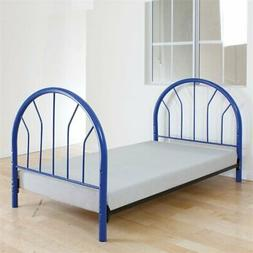 Bowery Hill Twin Headboard and Footboard Only in Blue