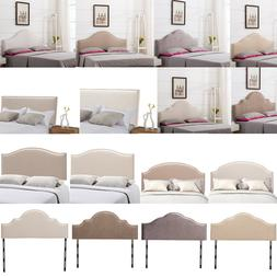 upholstered headboard king queen twin size adjustable