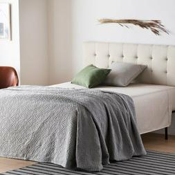 Rest Haven Upholstered Square Tufted Mid Rise Headboard