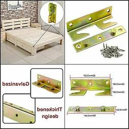 ZXHAO Iron Hanging Code Heavy Duty Bed Pendant Wood Bed Rail